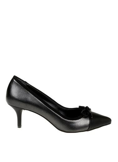 Fabrika Topuklu Ayakkabı Gümüş
